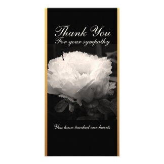 Peonies Floral Photography - Thank You Cards Picture Card