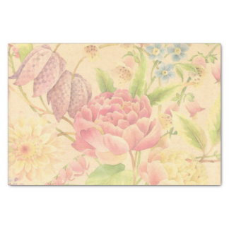 Peony Flowers Tissue Paper
