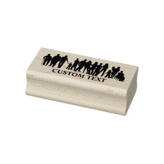 People design custom stamp