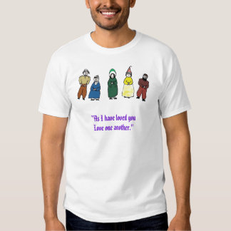 people, Love one another T Shirt