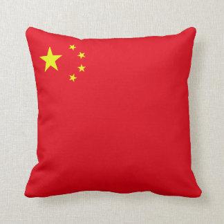 Peoples Republic of China Flag (corner) Cushion