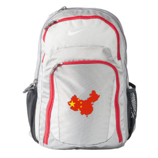 People's Republic of China Flag/Map Backpack