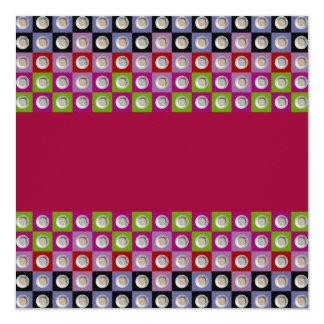 pepita collage 5x15 card