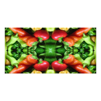 Pepper as Art - Spicy Abstract Photo Cards