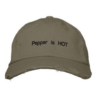 Pepper is HOT Baseball Cap