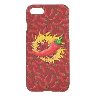 Pepper with flame iPhone 8/7 case