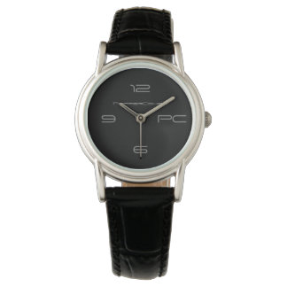 PepperCohen Women's Black Watch
