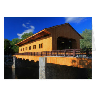 Pepperell Massachusetts Covered Bridge Card