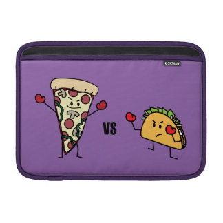 Pepperoni Pizza VS Taco: Mexican versus Italian MacBook Sleeve