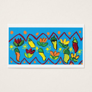 peppers and flowers business card