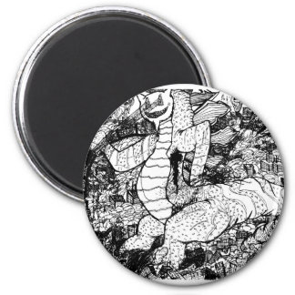 Percentum Godzilla Magnet