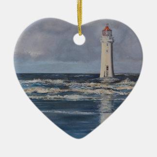Perch Rock Lighthouse Christmas Ornament