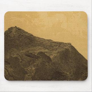 Perched rock, Rocker Creek, Arizona Mouse Pad