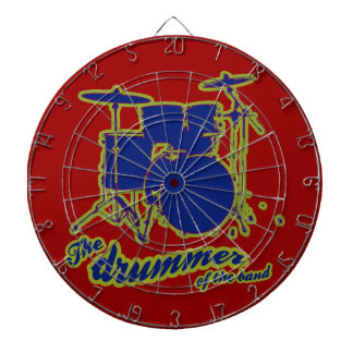 percussion drums ~ drummer dart boards