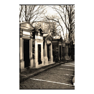 pere lachaise, Paris Stationery
