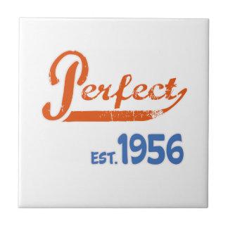 Perfect Est. 1956 Small Square Tile