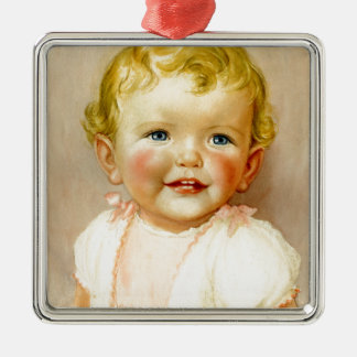 perfect gift for a baby girl birth! christmas ornament