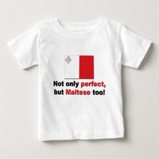 Perfect Maltese Baby T-Shirt