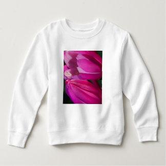 Perfect Pink Seduction: Romantic Flower Hearts Sweatshirt