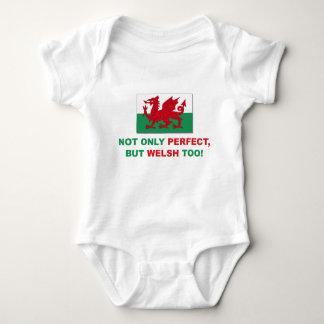 Perfect Welsh Baby Bodysuit