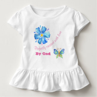 Perfectly Created With Love By God Toddler T-Shirt