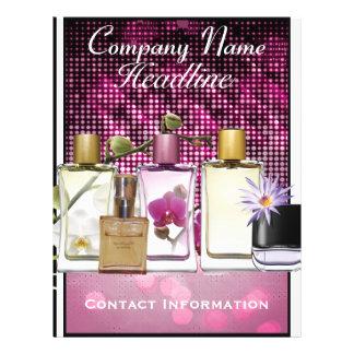 Perfume Fragrance Marketing Flyer Template