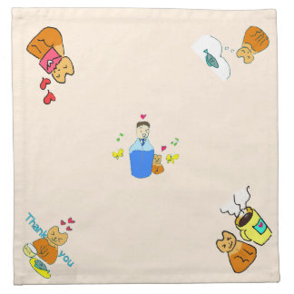 Perfumeroid cloth napkin Part 1