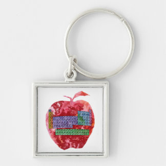 Periodic table of the elements key rings periodic table of the periodic table apple key ring urtaz Choice Image