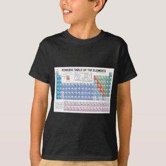 Periodic Table of Elements Fully Updated T-Shirt