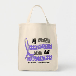 Periwinkle For My Grandfather Esophageal Cancer Bags