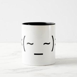Perk-up! Emoticon mug