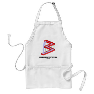 Perpetual Waterfall (Optical Illusion) Aprons
