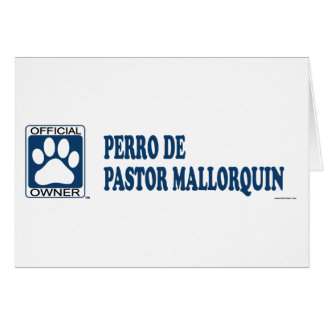 Perro De Pastor Mallorquin Blue Cards