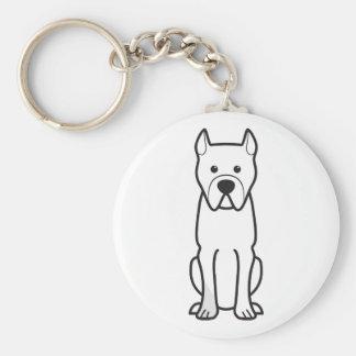 Perro de Presa Canario Keychain