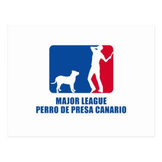 Perro de Presa Canario Post Card