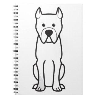 Perro de Presa Canario Spiral Notebook