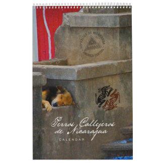 Perros Callejeros de Nicaragua Wall Calendars