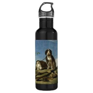 Perros en traílla Bottle 710 Ml Water Bottle