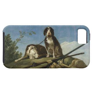 Perros en traílla iPhone 5 cover