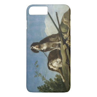 Perros en traílla iPhone 7 plus case
