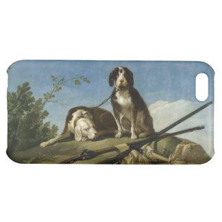 Perros en traílla cover for iPhone 5C