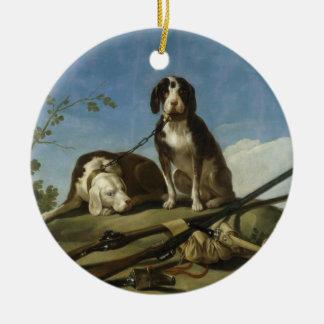 Perros en traílla Ornament