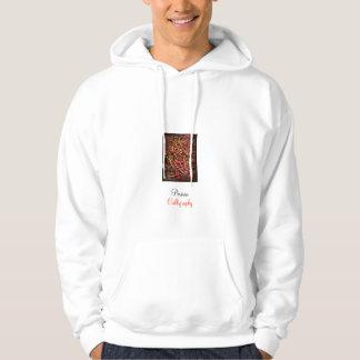 Persian Calligraphy Hooded Sweatshirt