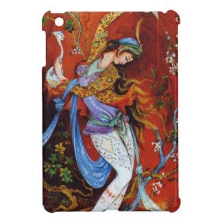 Persian Woman Dancing with Bird & Wine Case For The iPad Mini