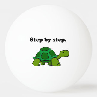 Persistent Winning Tortoise Turtle Step by Step Ping Pong Ball