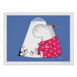 PERSONAL PENGUIN Hot Chocolate poster by Boynton
