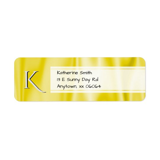 Personalise:  Faux Yellow Satin Fabric Texture