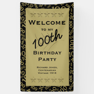 Personalise:  Personalise: Welcome to my 100th Bir Banner