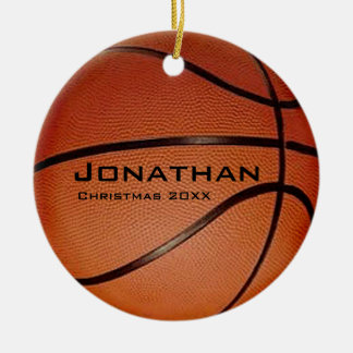 Personalised Basketball Ornament