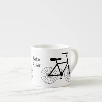 Personalised Bicycle Design Espresso Cup